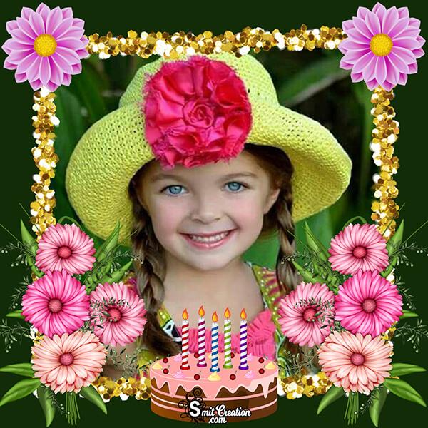 Beautiful Birthday Photo Frame