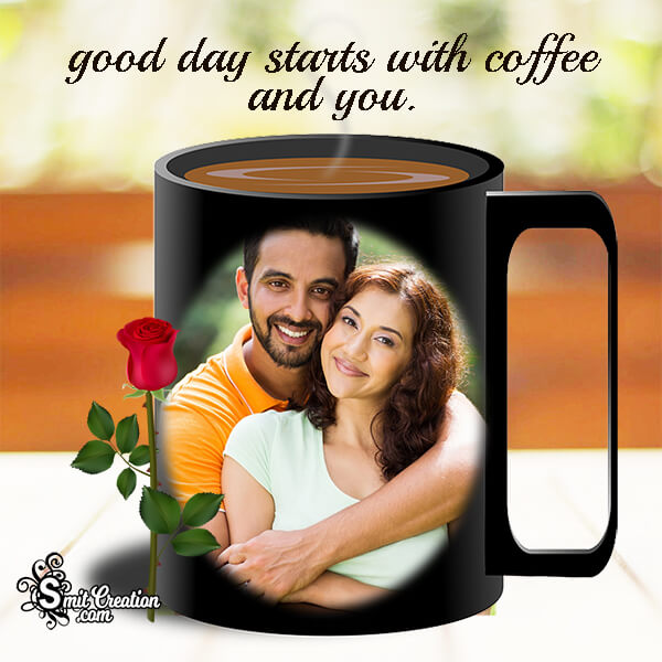 Coffee Mug Love Photo Frame