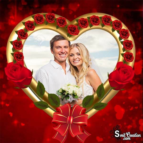 Beautiful Heart Photo Frame