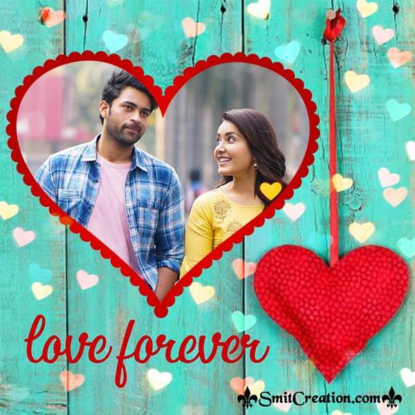 Love Forever Photo Frame
