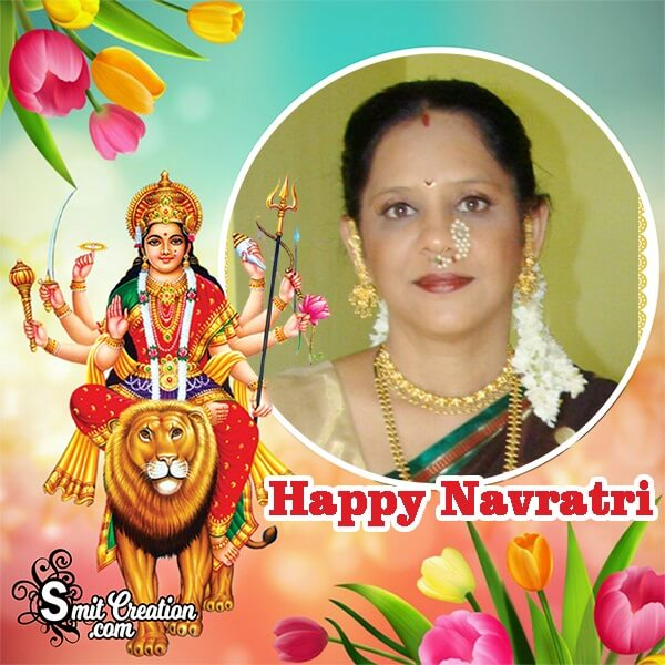 Navratri Photo Frame
