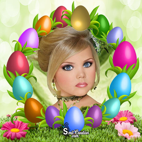 Easter Eggs Photo Frame