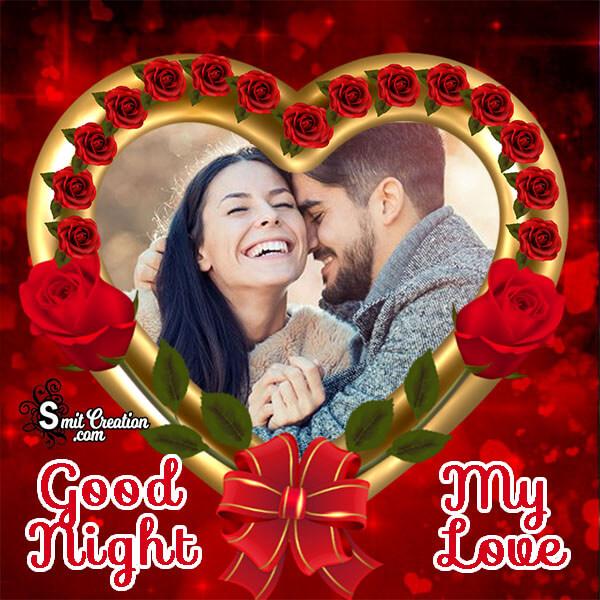 Good Night My Love Frame