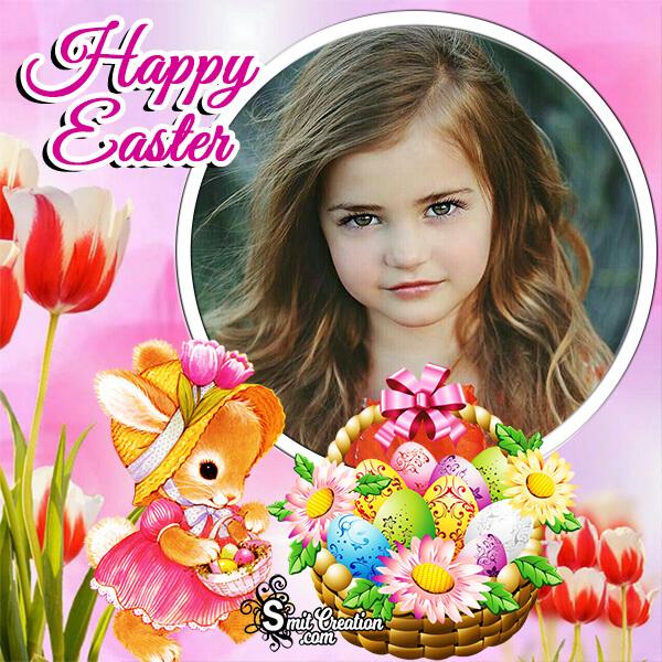 Happy Easter Frame