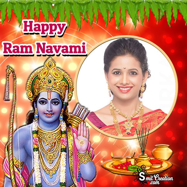 Happy Ram Navami Photo Frame