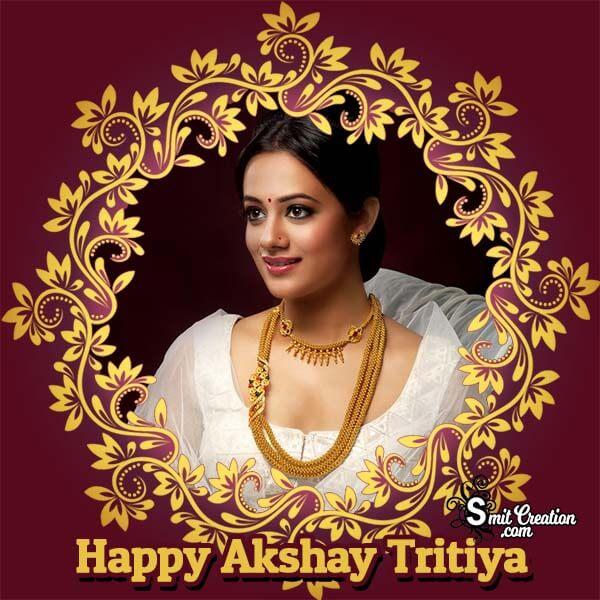 Akshay Tritiya Floral Frame