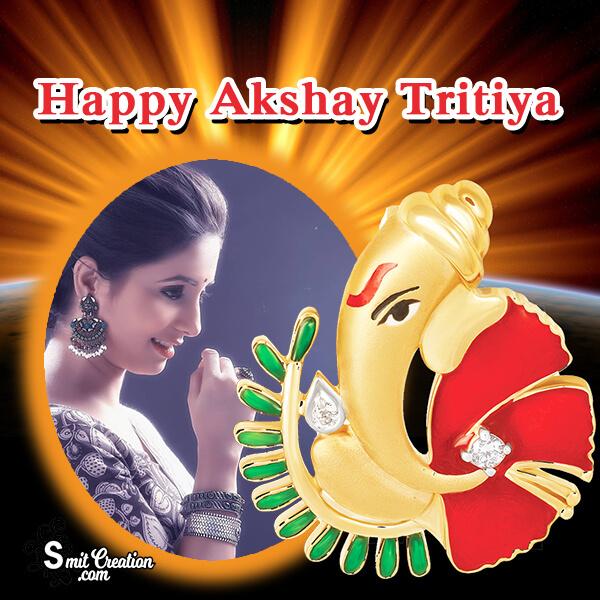 Akshay Tritiya Ganesha Frame