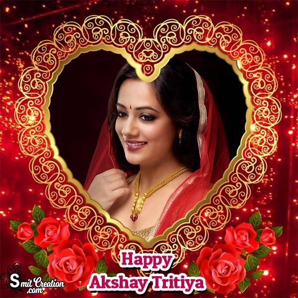 Akshay Tritiya Heart Frame