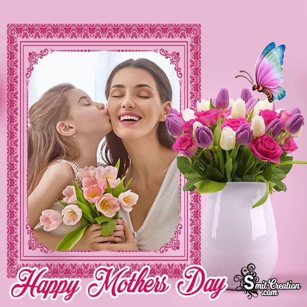 Mothers Day Flower Pot Frame