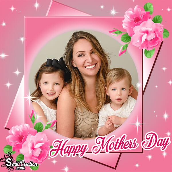 Mothers Day Pink Photo Frame