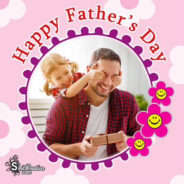 Happy Fathers Day Photo Frame