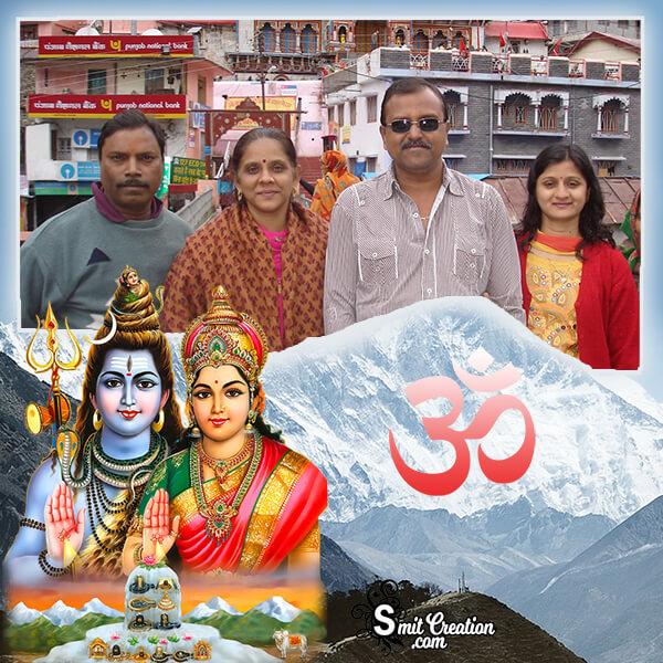 Shiv Parvati Photo Frame