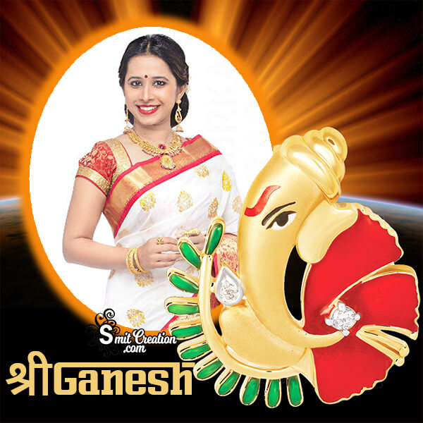 Shree Ganesh Photo Frame