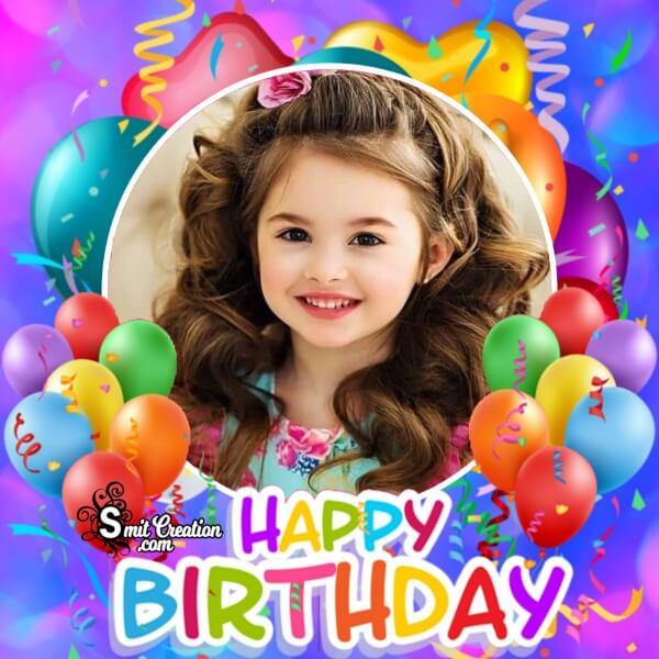 Cute Birthday Photo Frame
