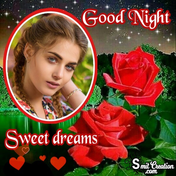 Good Night Sweet Dreams Frame