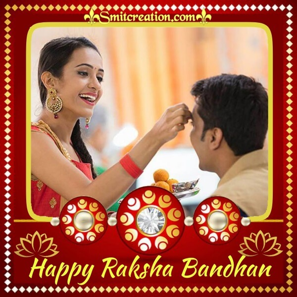 Happy Rakhi Photo Frame