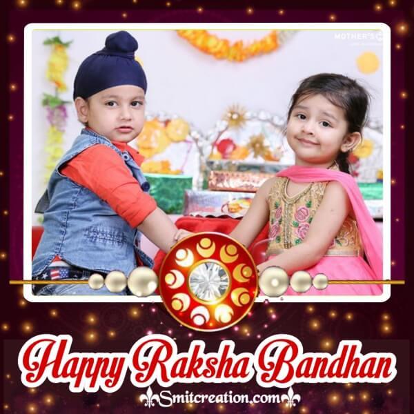 Happy Raksha Bandhan Frame