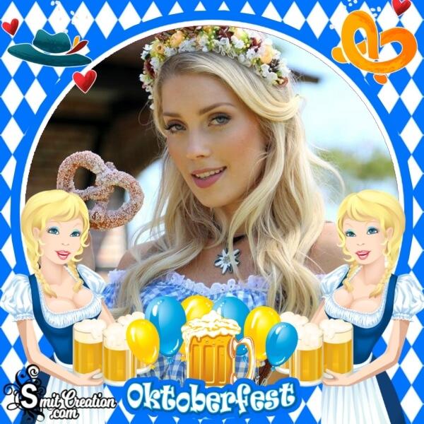 Celebrate Oktoberfest Photo Frame