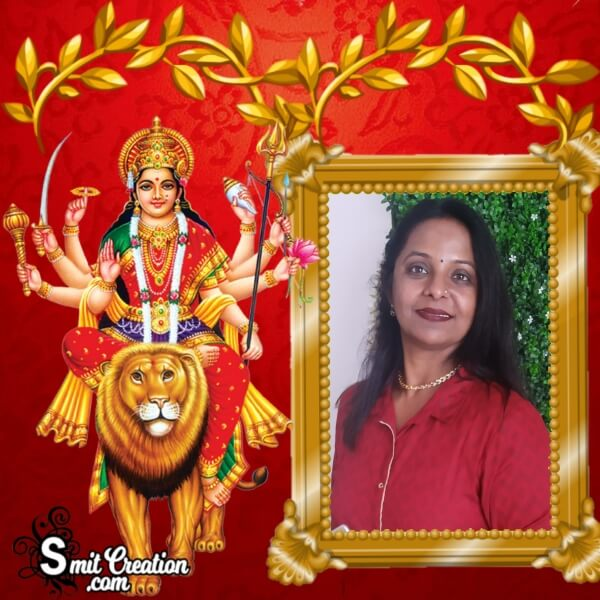 Durga Devi Photo Frame