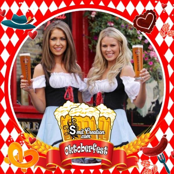 Enjoy Oktoberfest Photo Frame