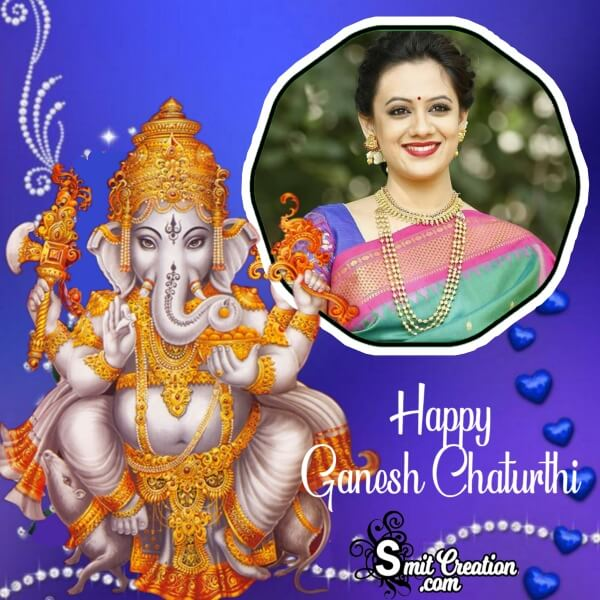 Ganesh Chaturthi Photo Frame