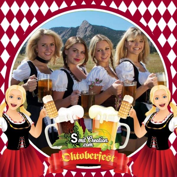 Happy Oktoberfest Photo Frame