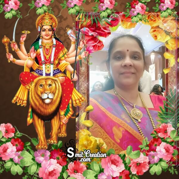 Sherowali Mata Photo Frame
