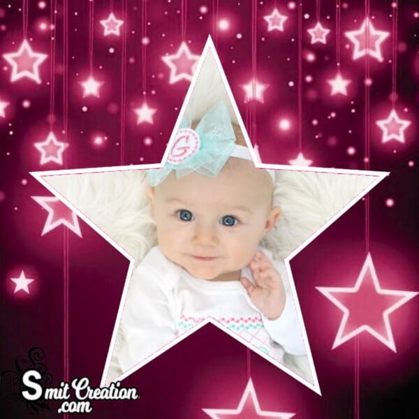 Good Night Star Photo Frame