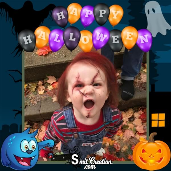 Happy Halloween Day Frame