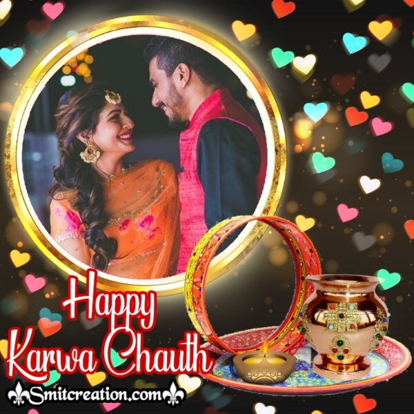 Happy Karwa Chauth Frame