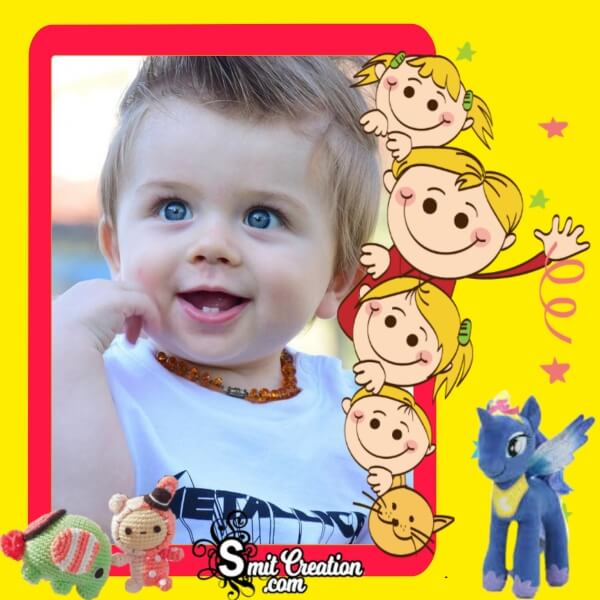 Children's Day Cute Photo Frame