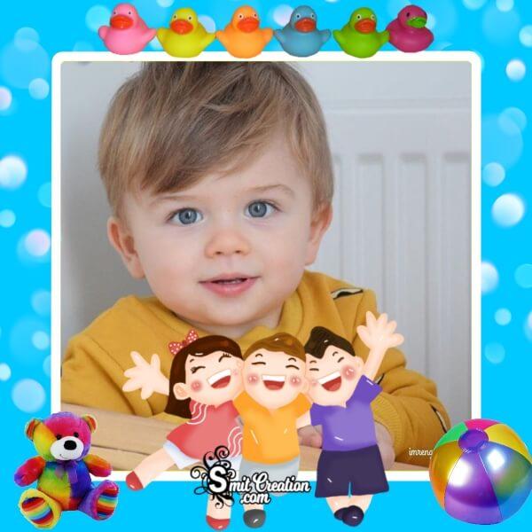 Children's Day Photo Frame