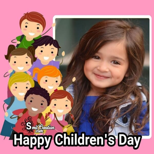 Happy Children's Day Frame