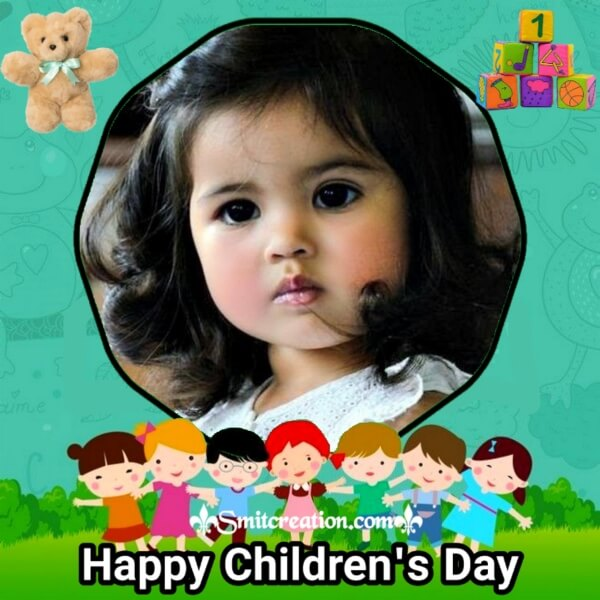 Happy Children's Day Photo Frame