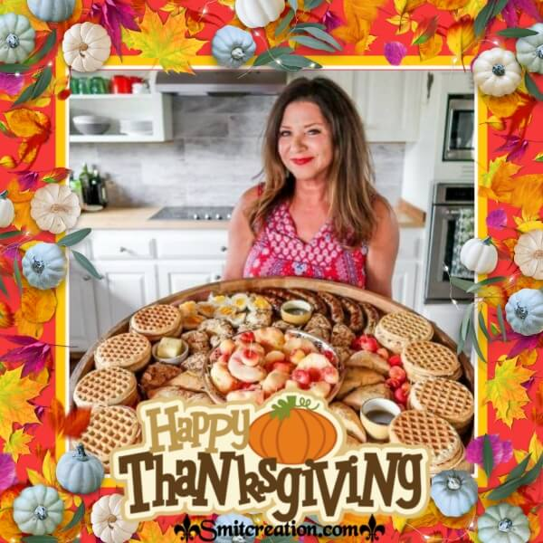 Happy Thanksgiving Frame