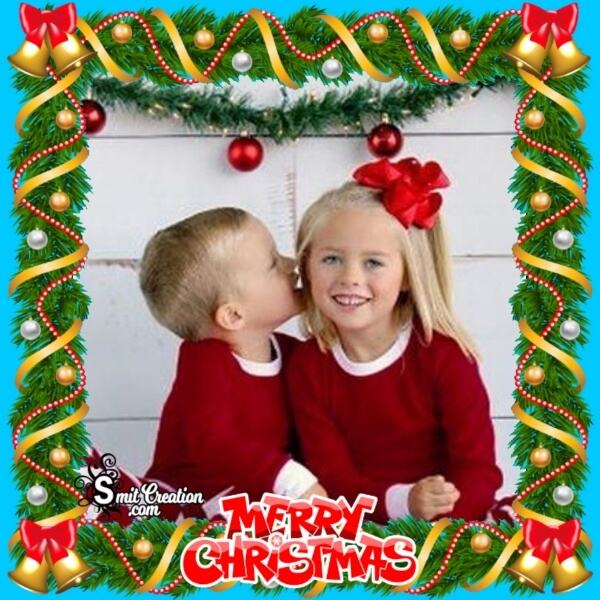 Beautiful Christmas Photo Frame