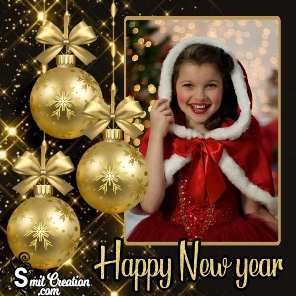 New Year Celebration Frame