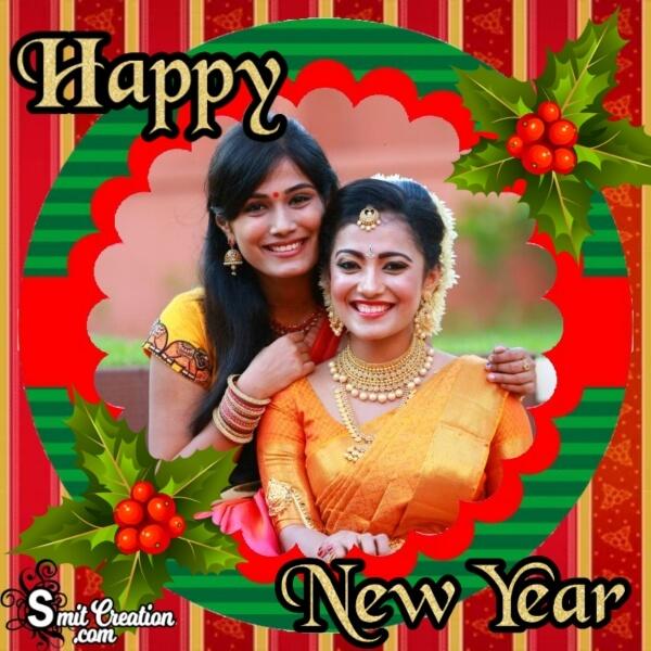 Happy New Year Decor Frame