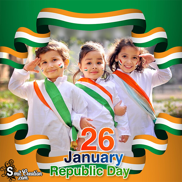 26 January Republic Day Frame