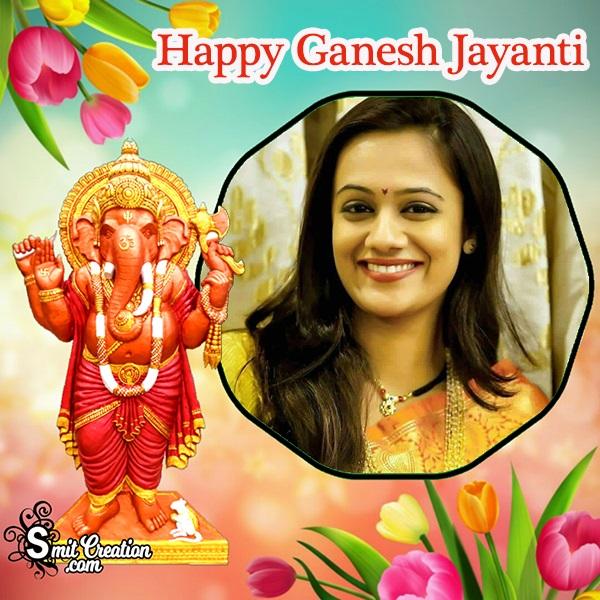 Happy Ganesh Jayanti Frame