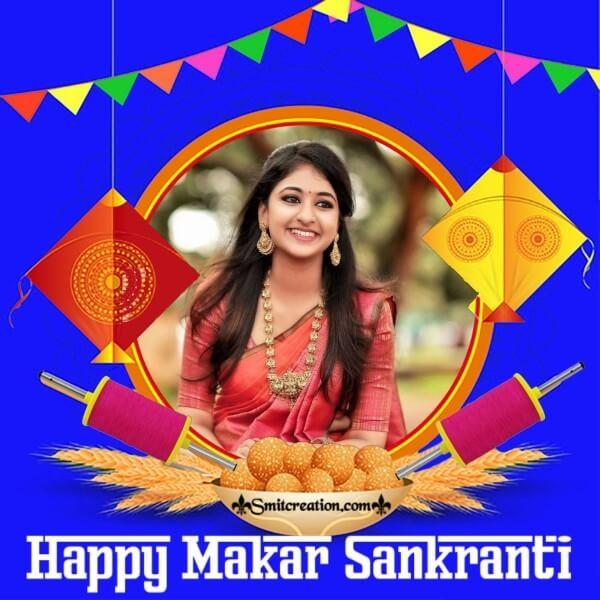 Happy Makar Sankranti Frame