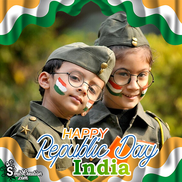 Happy Republic Day India Frame