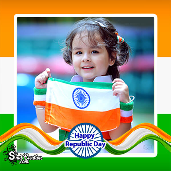 Happy Republic Day Photo Frame