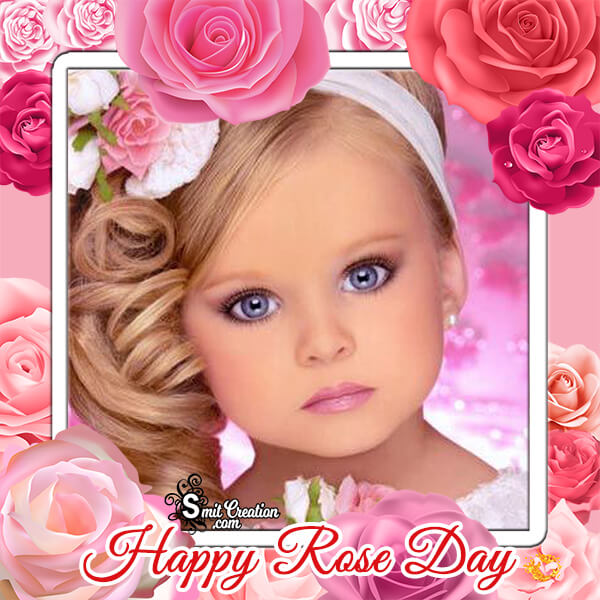 Happy Rose Day Photo Frame