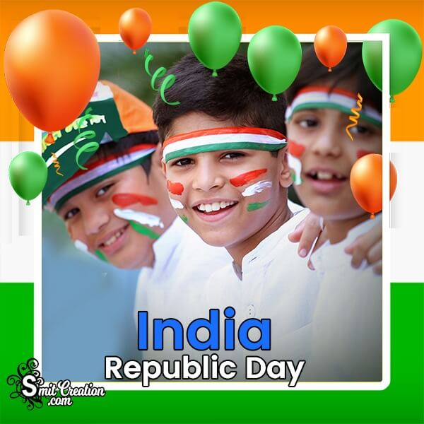 India Republic Day Photo Frame
