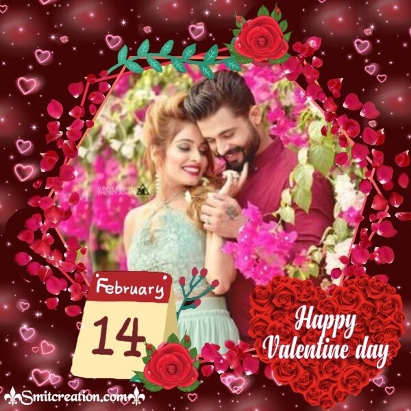 14 Feb Valentine Day Frame