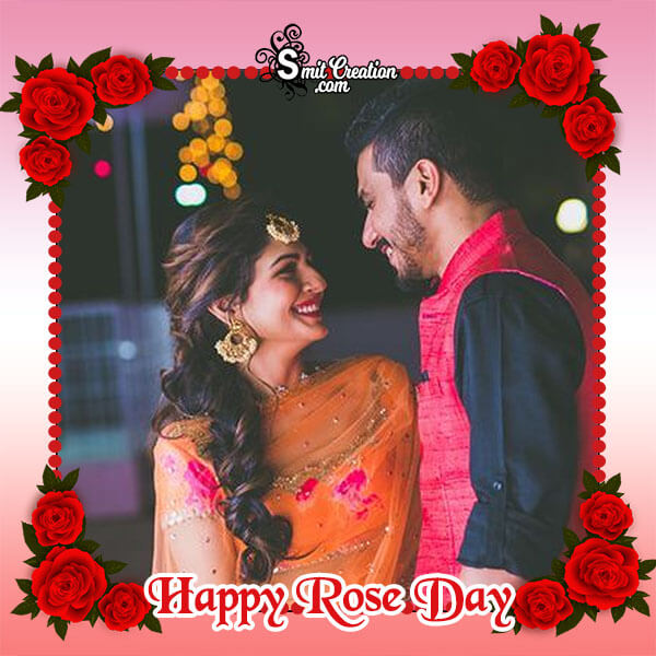 Beautiful Rose Day Photo Frame