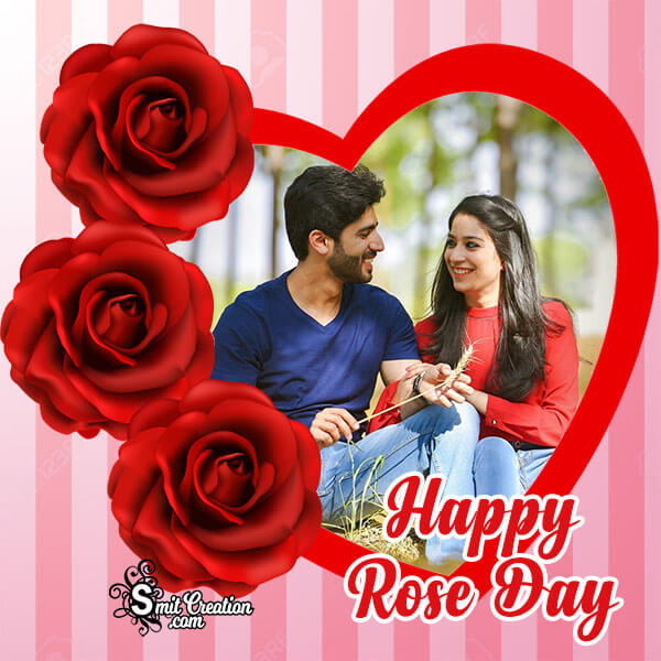 Rose Day Lovely Photo Frame