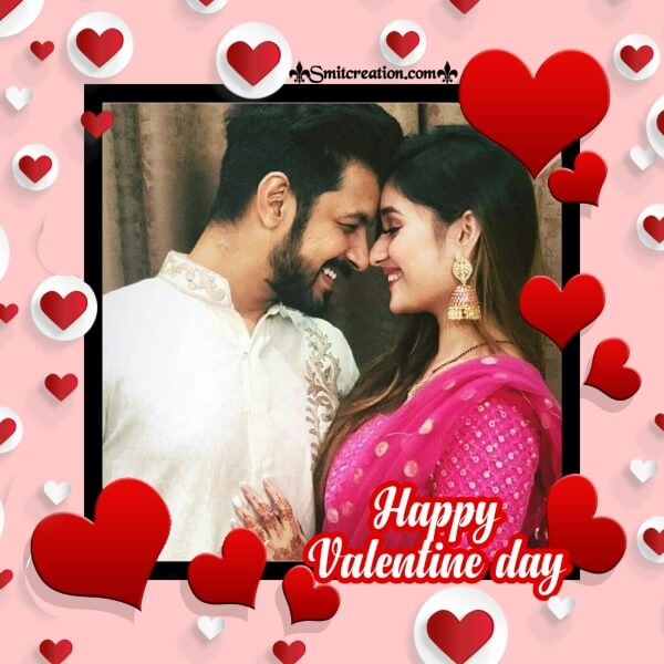 Happy Valentine Day Frame