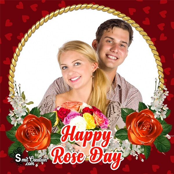 Rose Day Beautiful Photo Frame